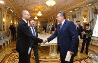 Лидеры оппозиции пришли к Януковичу на заседание фракции ПР