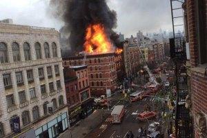У Нью-Йорку вибухнув житловий будинок: постраждали 30 осіб