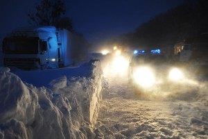 В крымских горах спасли застрявших в снежном плену