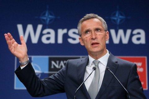 Столтенберг прокомментировал возможность проведения в Украине референдума по НАТО