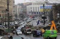 У центрі Києва обмежено рух транспорту через позачергове засідання Ради