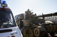 В Киевской области перевернулся БТР, погиб военный
