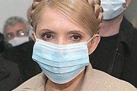Тимошенко похвалилась ВОЗ успехами в борьбе с гриппом