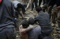 Кількість жертв землетрусу в Непалі перевищила 2 тис. осіб