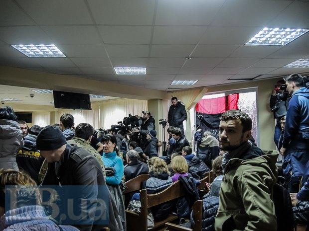 Зал заседания, где рассматривалась мера пресечения Краснову