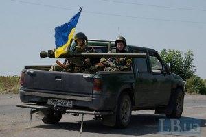Военные разбили боекомплект террористов возле Песков, противник усилил обстрел (обновлено)