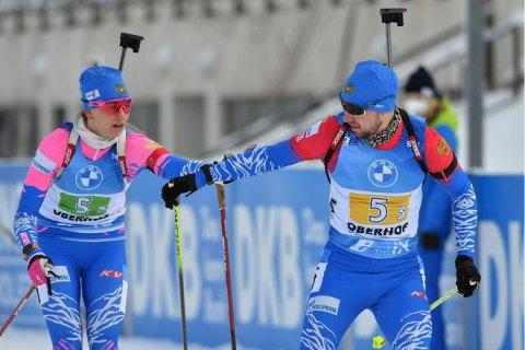 Драматичною перемогою Росії завершилася естафета на етапі Кубка світу з біатлону