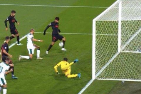 Диего Коста совершил эпичный промах с 2-х метров в матче Лиги Чемпионов