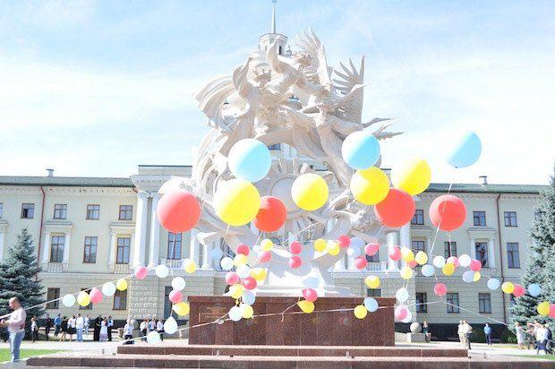 Монумент у вересні 2011 року