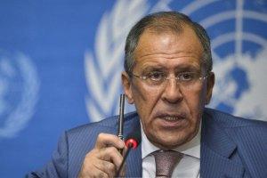 Лавров поскаржився головам МЗС Німеччини та Франції на пікет російського посольства