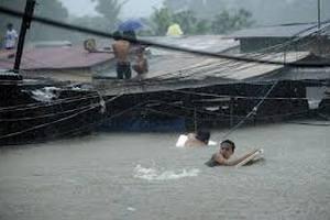 От наводнения на Филиппинах пострадали 60 человек