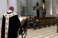 Италия разрешила богослужения в храмах с 18 мая