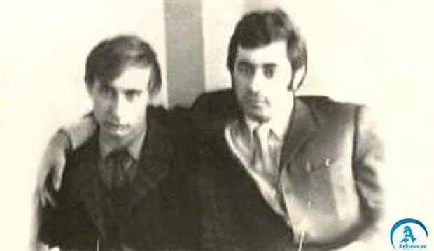 Путин и Рагимов в студенческие годы