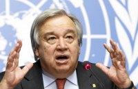 Генсек ООН дозволив співробітникам брати участь в антирасистських демонстраціях