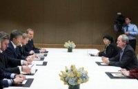 Янукович в Нью-Йорке встретился с руководством Chevron и ExxonMobil