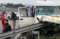 У аварії під Києвом загинули три людини, 17 постраждали
