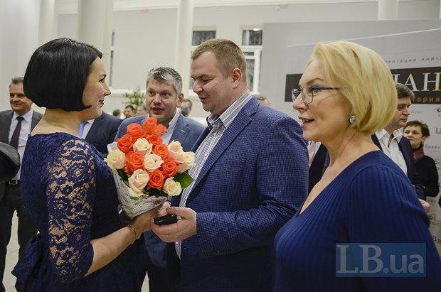 Соня Кошкина, Дмитрий Булатов и Людмила Денисова
