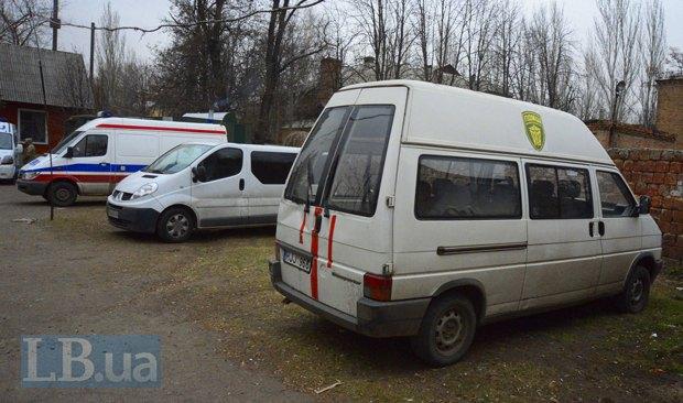 Первая миссия госпиталя состоялась в декабре - две недели в Курахово, это в 25 км. от Донецка
