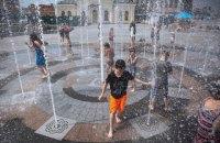 У п'ятницю в Києві до +32 градусів, без опадів