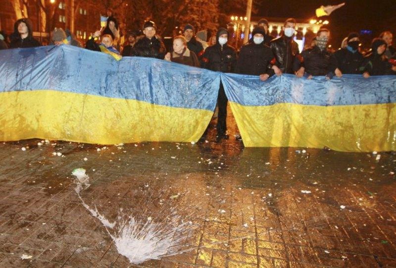 Мітинг 13 березня 2014 року в Донецьку
