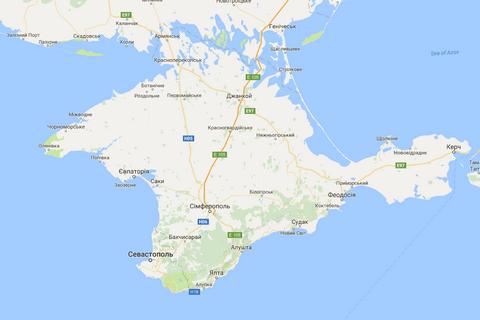 Google вернул советские названия на карту Крыма