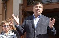 Саакашвили находится в Украине незаконно, но оснований для его задержания нет, - МВД