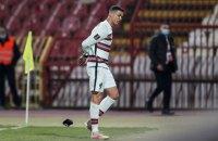 Цена капитанской повязки Роналду на аукционе в Сербии составила почти €11 млн