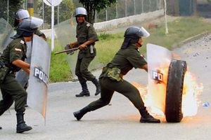 У Колумбії поліція й індіанці не поділили пагорб