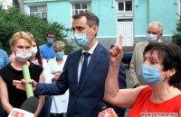 Головного санлікаря не пустили в Житомирський лабораторний центр