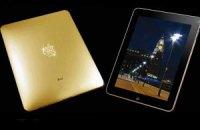 В Британии выпустили золотой iPad