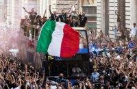 Збірна Італії відзначила перемогу на Євро-2020 чемпіонським парадом у Римі