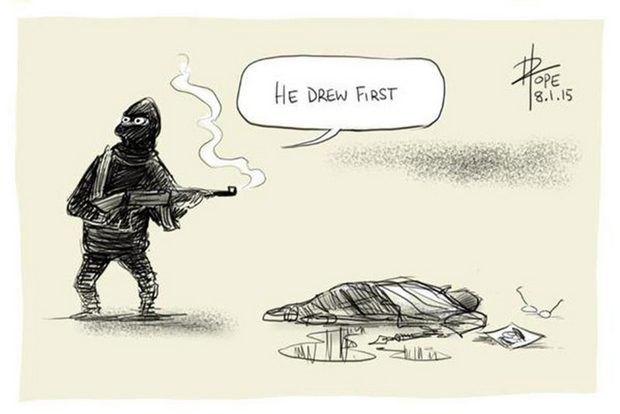 """""""Він перший намалював"""""""