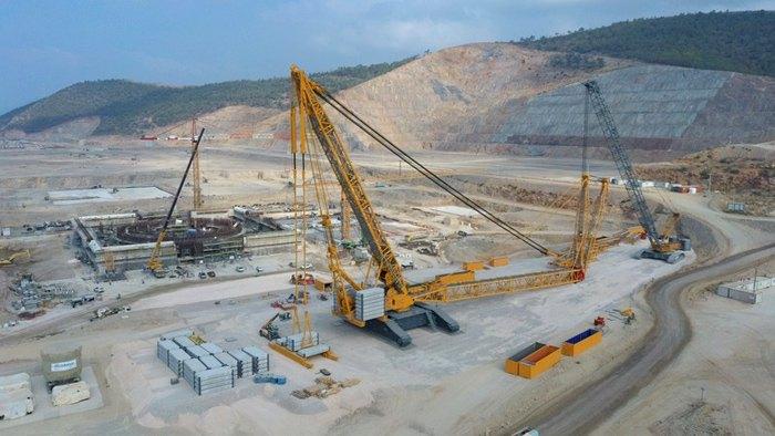 Строительство первой в Турции атомной электростанции «Аккую»