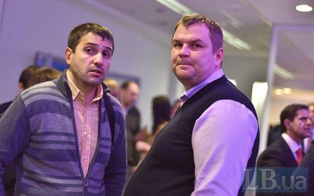 Дмитрий Булатов (справа) и Евгений Швец, Lb.ua