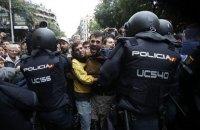 Число пострадавших в Каталонии возросло до 460