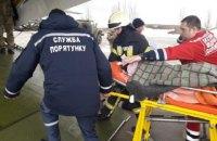 В Україні вперше провели аеромедичну евакуацію