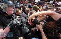 Милиция уже расследует избиение журналистов молодчиками