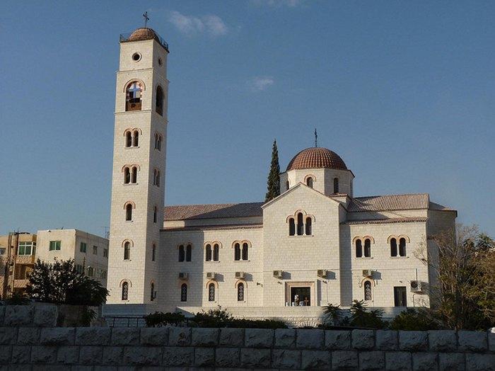 Благовещенский православный храм в Аммане, район аль-Абдали