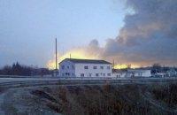 В Балаклее горит крупнейший в Украине склад боеприпасов, жителей эвакуируют