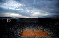На Roland Garros під час матчу Джокович - Берреттіні глядачі покинули трибуни через комендантську годину