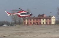 Санитарная бригада Авиационной системы МВД начала дежурства на Львовщине