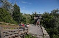 В Станице Луганской начали строить обходной мост