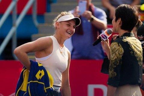 Ястремська перемогла росіянку і вийшла в півфінал турніру в Люксембурзі