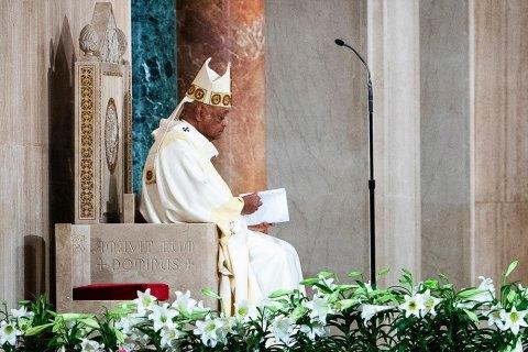 Папа Франциск призначив першого в історії кардинала-афроамериканця