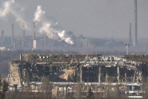 Місія ОБСЄ не змогла потрапити в Донецький аеропорт