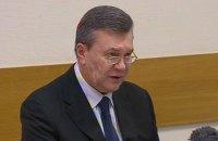 Янукович заявил, что не просил Путина вводить войска в Украину