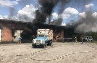 В Харьковской области во время тушения пожара взорвались канистры с топливом