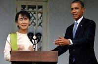 Обама требует изменения конституции Мьянмы