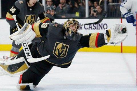 У матчі НХЛ голкіпер зробив неймовірний сейв у стилі Шовковського