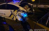 В Черноморске произошло ДТП с участием полицейского автомобиля